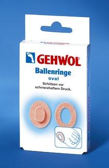 GEHWOL Ballenringe, oval, selbstklebend, Ballenschutz