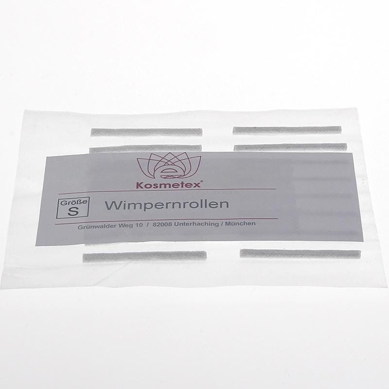 Kosmetex Wimpernrolle für Wimpernwelle 16 Stck., für die perfekte Wimperndauerwelle Größe S