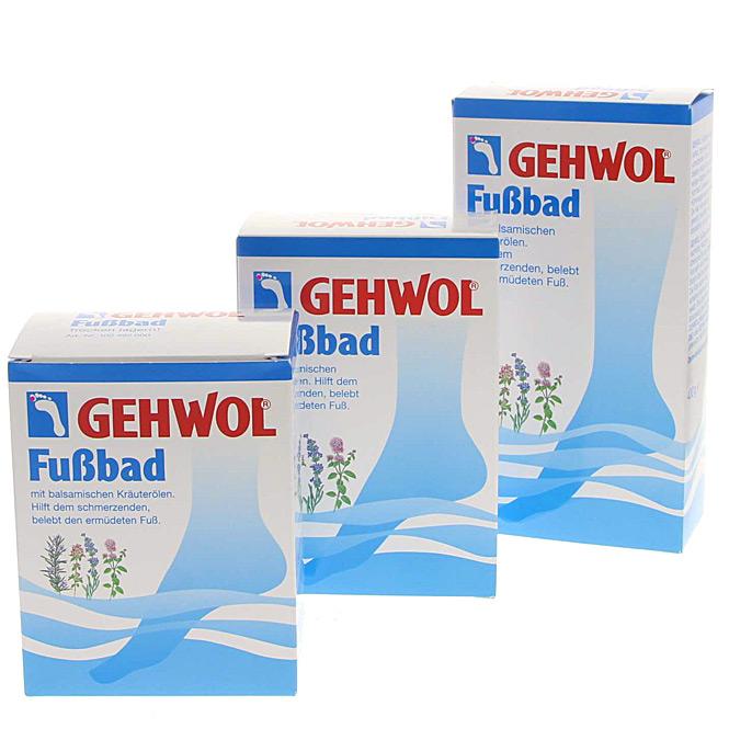 GEHWOL Fußbad mit balsamischen Kräuterölen belebendes Badekonzentrat,