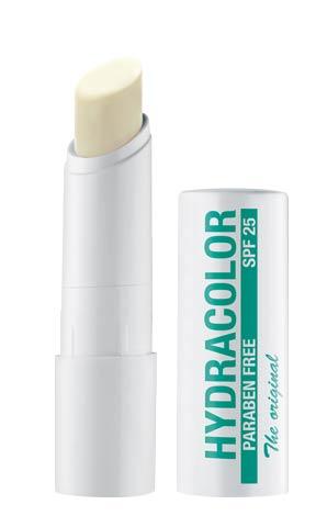 Hydracolor 18 farblos, Lippenstift mit SPF 25, Lippenpflege-Stift