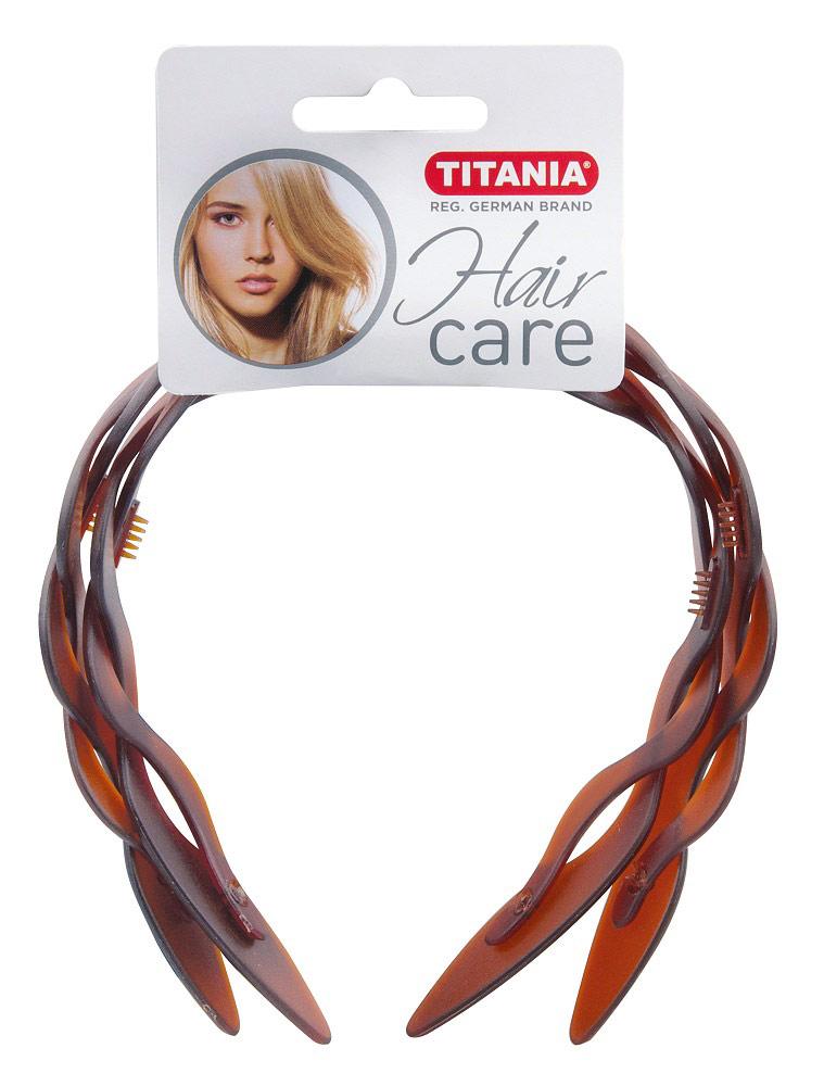 Haarreif, Kosmetex , Haarschutzreifen, Kosmetik Haarreifen 1× braun