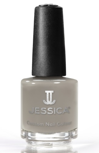 Jessica Nagellack 719 Colour Monarch, Grau, Schlamm, 14,8ml