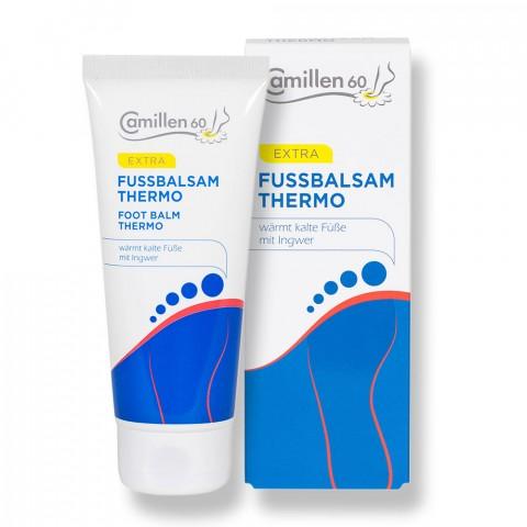 Fussbalsam Spezial Camillen 60, Wärmende Fußcreme, Balsam für den Fuß 100 ml