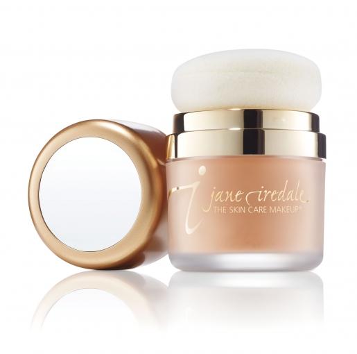 jane iredale Powder Me SPF 30 Golden, Sonnenschutzpuder,getönt Enthält Titandioxid und sonnengetrocknete natürliche Tonerde