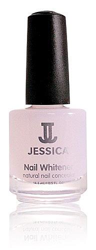 Nail Whitener - Jessica Nagelaufheller, lässt Nägel glatt - optisch weißer aussehen, 14,8ml