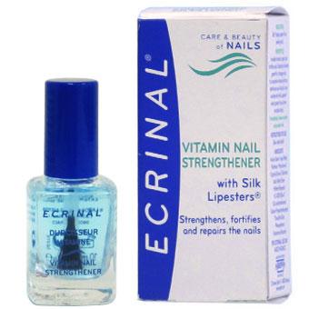 Ecrinal Nagel-Härter mit Lipester, für weiche, empfindliche, glanzlose, brüchige und splitternde Nägel, 10ml