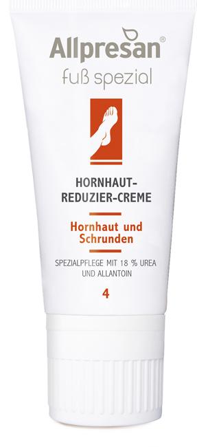 Allpresan Fuß Spezial Nr 4 Hornhaut-Reduzier-Creme, 18% Urea für starke Verhornungen und Schrunden, 40ml