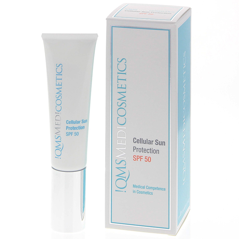 QMS Medicosmetics, Cellular Sun Protection LSF50, Sonnencreme und zugleich Tagescreme, 30ml