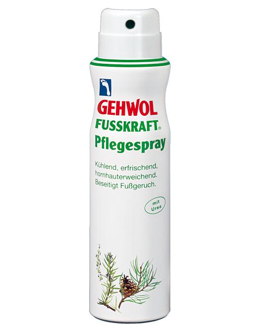 GEHWOL Pflegespray, Fußdeodorant Schuhspray gegen Fußgeruch, mit Urea,150 ml
