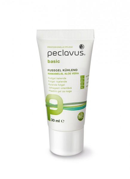 Peclavus basic Fußgel kühlend für strapazierte Füße, 30ml