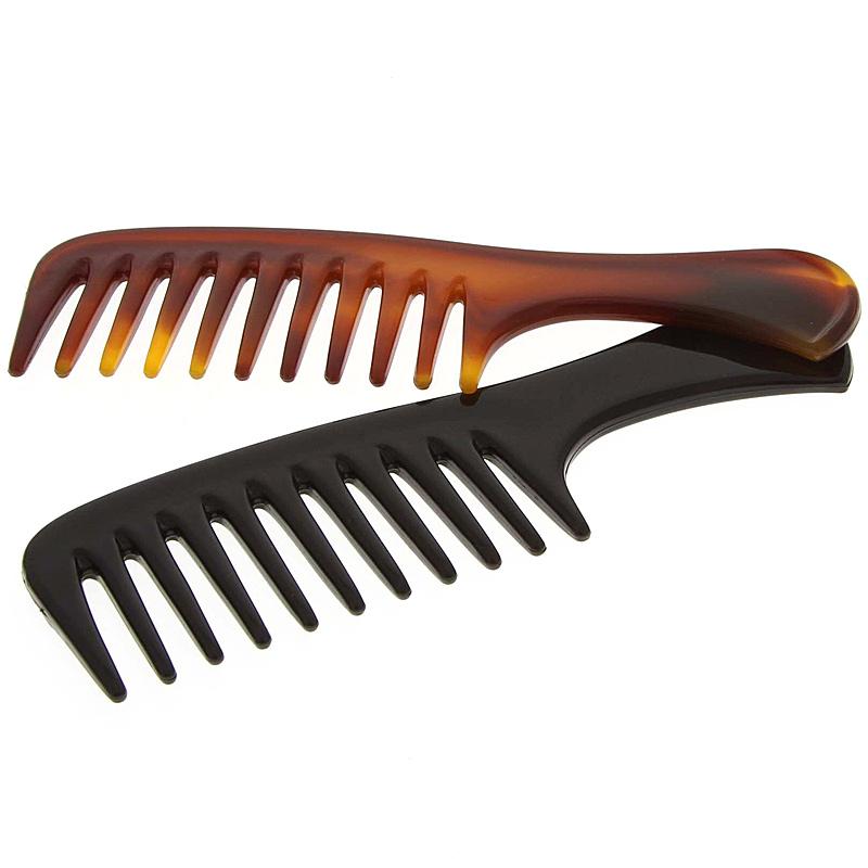 Afro kamm für voluminöses Haar, Kosmetex 14 cm Afro Haar Styler für dichtes, lockiges und langes Haar. 2er Set