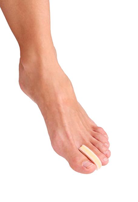 Berkemann Zehenspreizer, Schaumstoff zum Auseinanderhalten von Zehen,