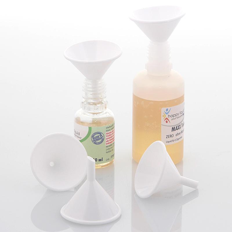 Kleiner Mini Trichter zum Befüllen von eLiquid Flaschen, Verdampfer von E Zigaretten, Kosmetex