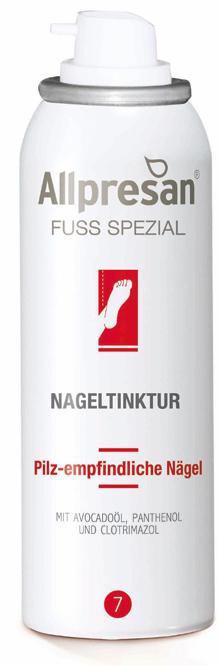 Allpresan Fuß Nr 7 Spezial Nageltinktur für pilz empfindliche Nägel 50 ml