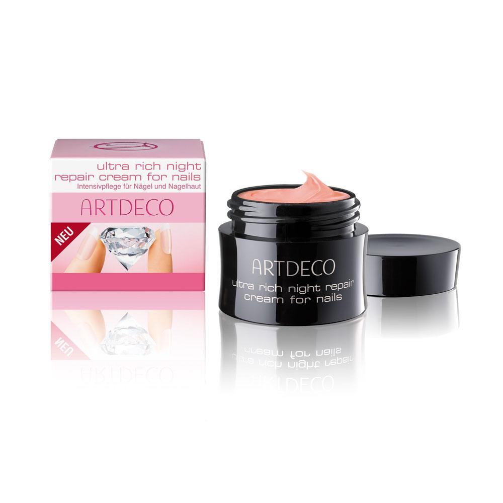 Ultra Rich Night Repair Cream for Nails, Intensivaufbaucreme, Nägel, 17ml, Artdeco