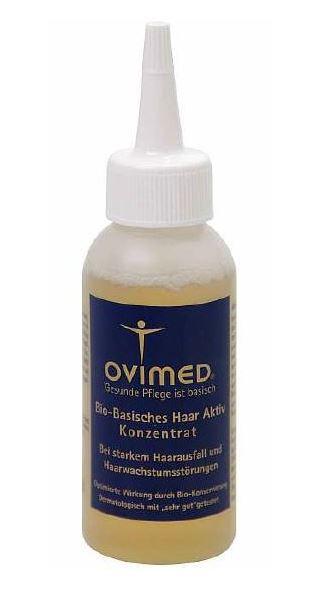 Ovimed Bio basische Haar Aktiv Konzentrat, bei starkem Haarausfall und Haarwachstumsstörung 75 ml