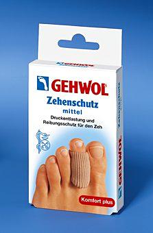 GEHWOL Zehenschutz, Zeh Druckschutz, Reibungsschutz zur Entlastung der Fußzehen Groß