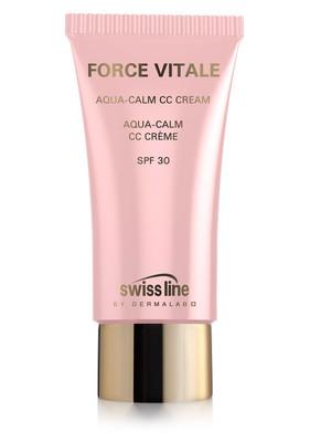 Swiss lineCell Shock Force Vitale,Aqua-Calm CC Creme SPF 30, 35ml normale,trockene u.empfindliche Haut schützt gegen Hautalterung