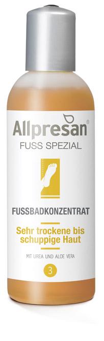 Allpresan Fuß Nr 3 Spezial Fußbad-Konzentrat Badekonzentrat für sehr trockene und raue Füße 150 ml