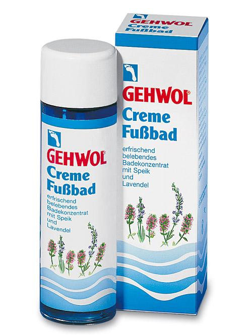 GEHWOL Creme-Fußbad, mit Lavendel belebendes Badekonzentrat, 150 ml