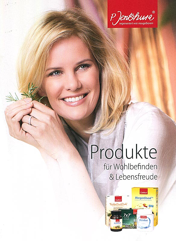 Infoheft: Jentschura Produkte für Wohlbefinden und Lebensfreude, A5, 35 Seiten,