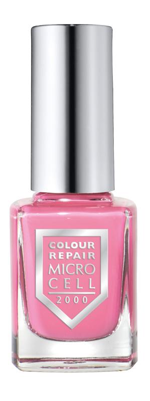 Micro Cell 2000 Nagellack, Candy Glam 34085, helles Rosa-Pink, Colour Repair, 11ml