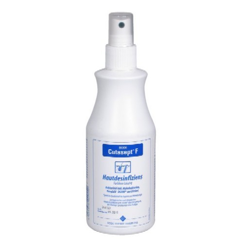 Cutasept F Hautdesinfektion, Alkoholisches Hautantiseptikum, Haut Desinfektion, Hygiene, 250ml