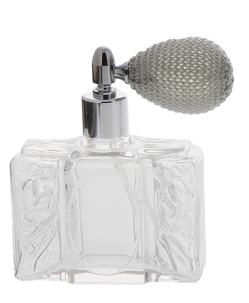 Glas-Flacons, Tisch-Zerstäuber für Parfüm, Kosmetex 50 ml mit Ballpumpe