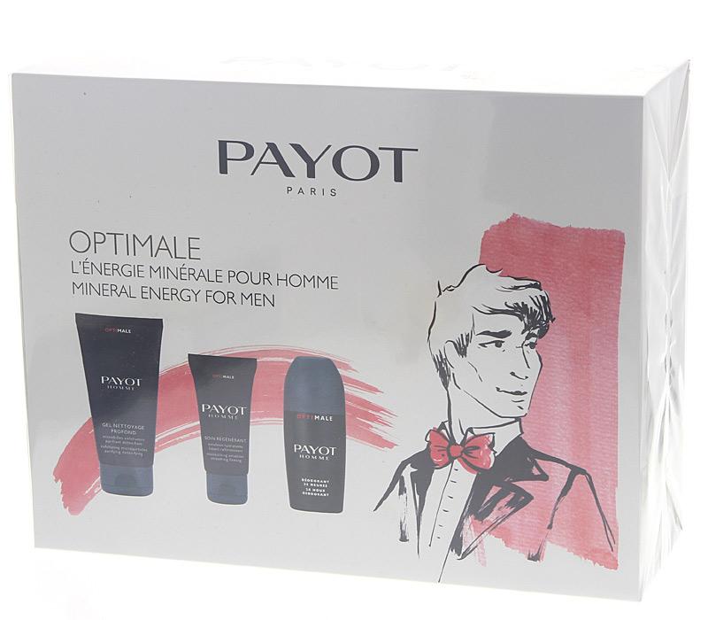 PAYOT OptiMale Set Mineral Energy for Men 3 hochwertige Pflegeprodukte für den Mann