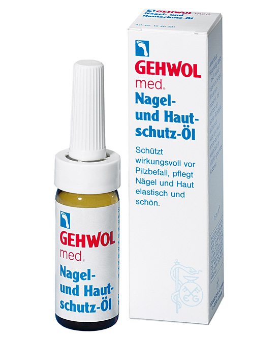 GEHWOL med. Nagelöl und Hautschutz Öl für brüchige, spröde Nägel,