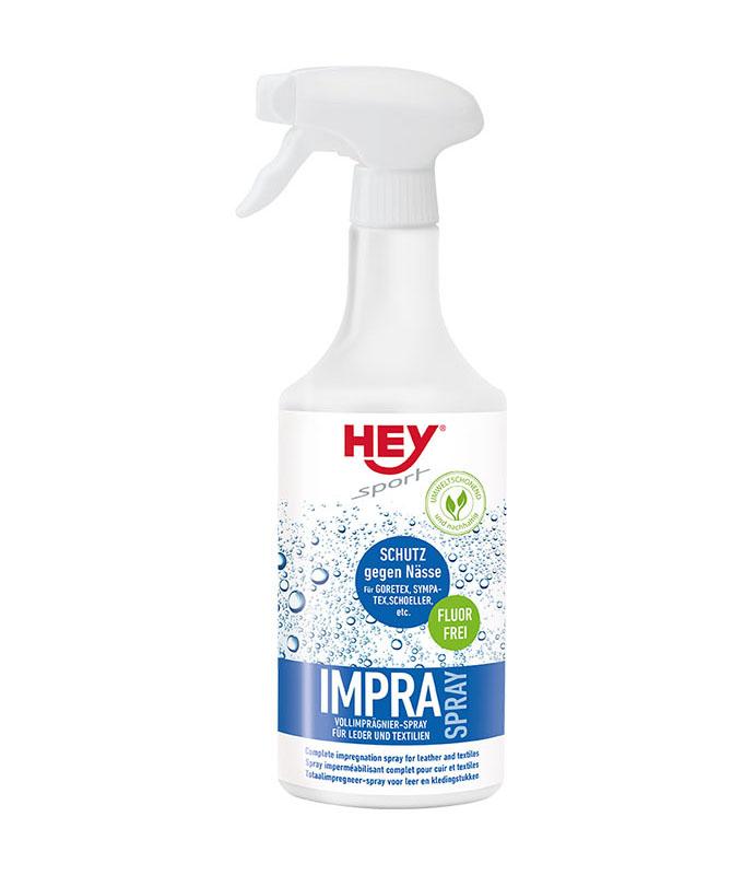 HEY sport IMPRA Spray zur Imprägnierung von Leder und Textilien wie GORETEX, SYMPATEX ...