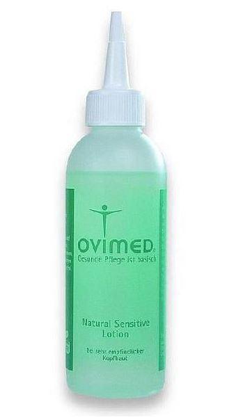 Ovimed Natural Sensitive Lotion, bei trockener Kopfhaut gegen Juckreiz, Schuppen, Entzündungen 150ml 150 ml