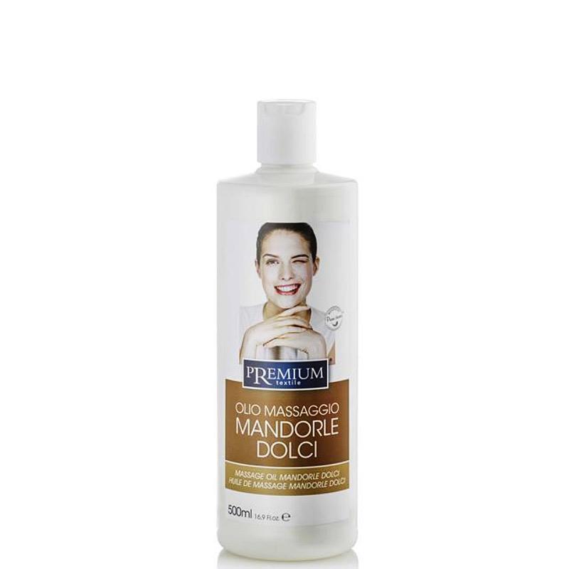 Premium Massage-Öl Mandel, 500ml