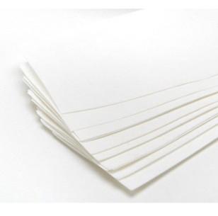 Kosmetex Vliesstreifen für Wachs, weiß, 20 cm x 7 cm, Enthaarungsstreifen, für Gesicht und Körper, 100 Stück