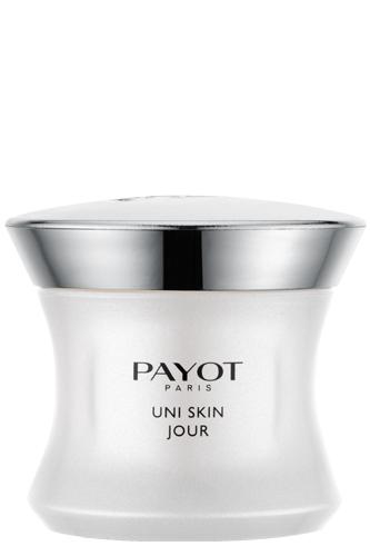 Payot Uni Skin Jour, Gesichtscreme, gegen Pigmentstörungen, Unebenheiten, Flecken, Rötungen, 50ml