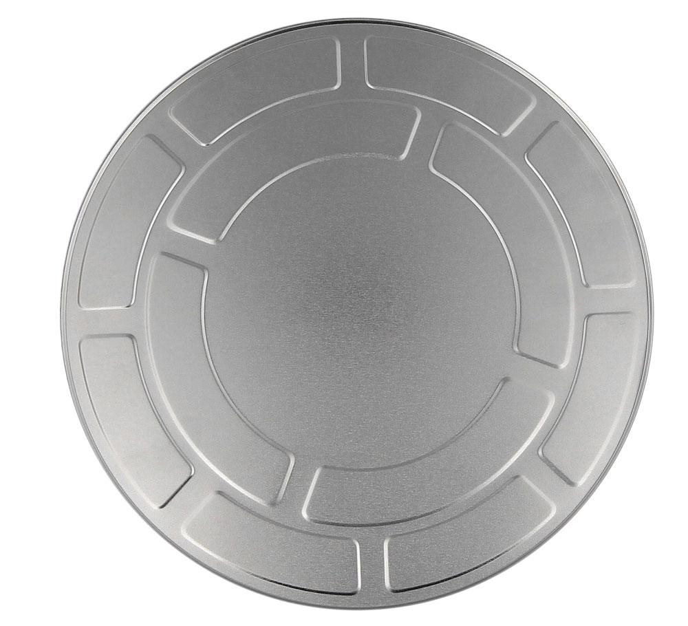Filmdose 27 cm aus Aluminium, Kosmetex Alu Filmrollen-Dose im Hollywood Style 27 cm