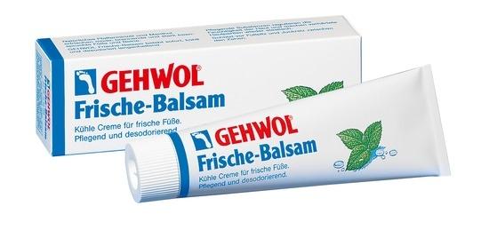 GEHWOL Frische-Balsam, desodorierend, kühlende Fußcreme, mit Fußpilzschutz, 75ml