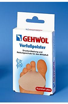 GEHWOL Vorfußpolster G, Gel Druckschutz für den Mittelfuß
