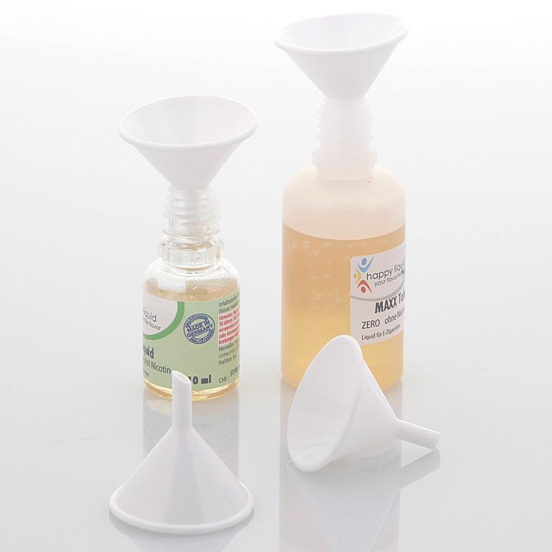 Kleiner Mini Trichter zum Befüllen von eLiquid Flaschen, Verdampfer von E Zigaretten, Kosmetex 1 Stück
