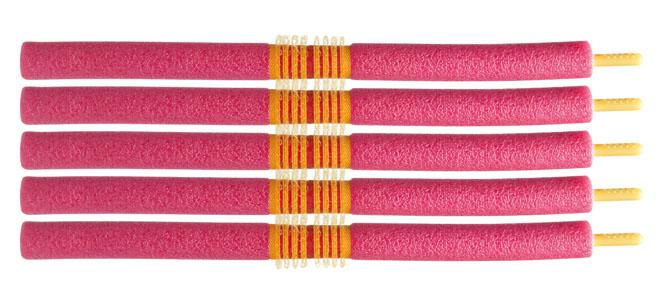 Softwickler Flexwickler Papilotten mit Stecker Lockenwickler für Ihre Haare 12 mm