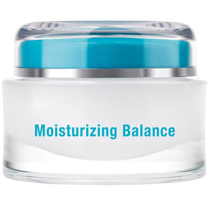QMS Moisturizing Balance, Anti Aging Creme 24 Std. Creme für trockene Haut, 50ml