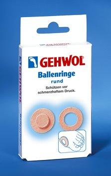 GEHWOL Ballenringe, rund, selbstklebend, Ballenschutz