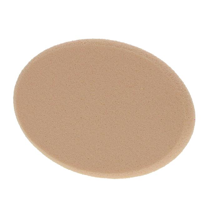 Make-up Schwämmchen Kosmetex, beige, MakeUp Schwamm oval, 7,5 cm 1 Stück