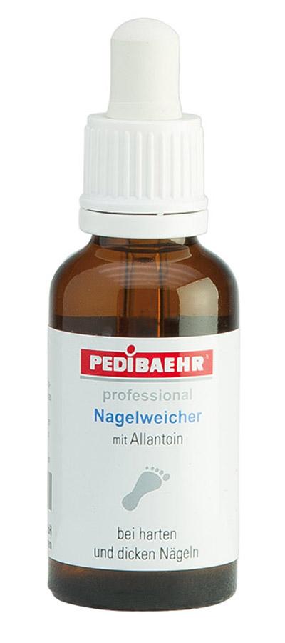 Nagelweicher bei harten dicken, eingewachsene Fußnägel, Nagelpflege, PediBaehr, 30ml