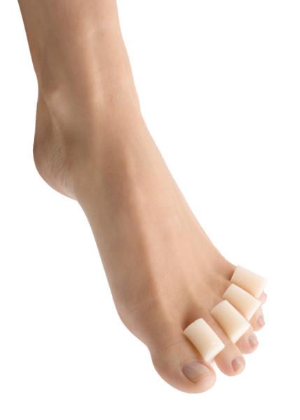 Berkemann, Zehentrenner Zehenkamm für die Pediküre, Lackieren der Fußnägel, Fußkomfort, 2 Stück