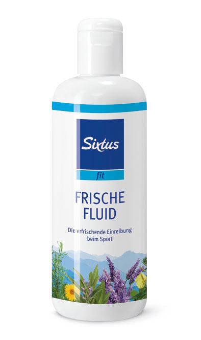 Sixtus fit Frische Fluid, zur Erfrischung für den ganzen Körper während des Sports 500 ml