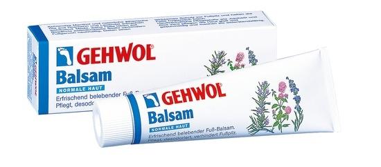 GEHWOL Balsam, normale Haut, desodorierend, Fußcreme, mit Fußpilzschutz, 125 ml