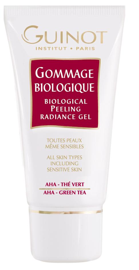 Guinot Gommage Biologique, Gesichtspeeling , 50ml Hauptwirkstoff:Grüntee-Extrakt, natürliche Fruchtsäuren,Jojoba-Öl