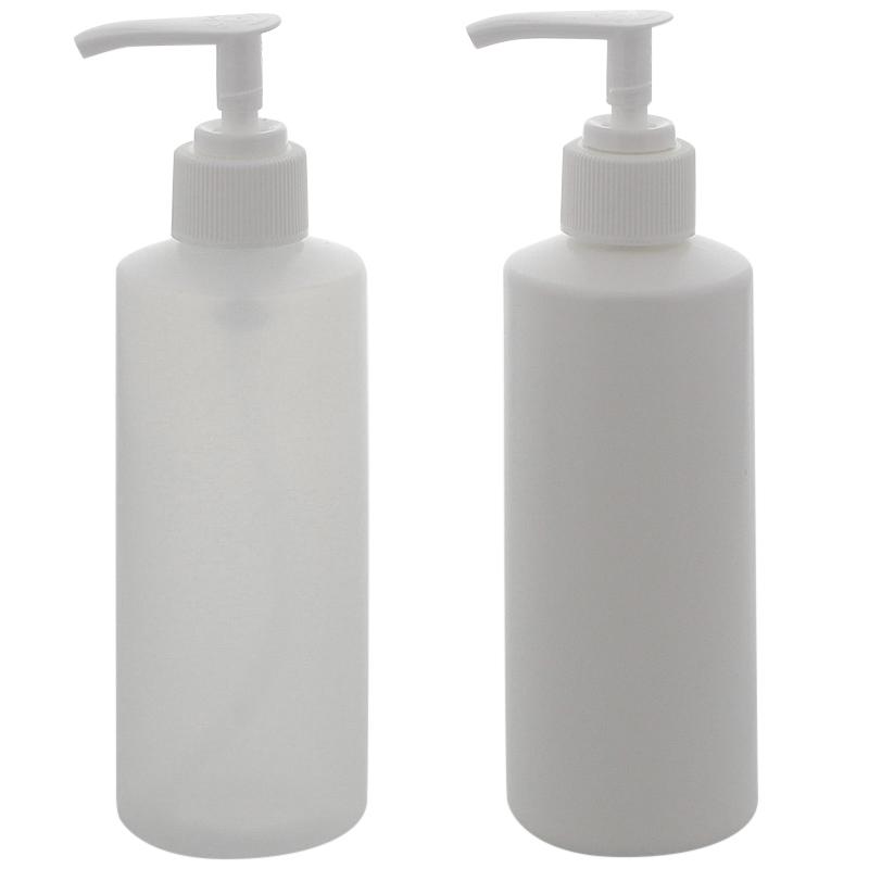 Leere Flasche mit Seifenspender, Lotionspender, Kosmetex Gelspender, leer, rund, 200 ml