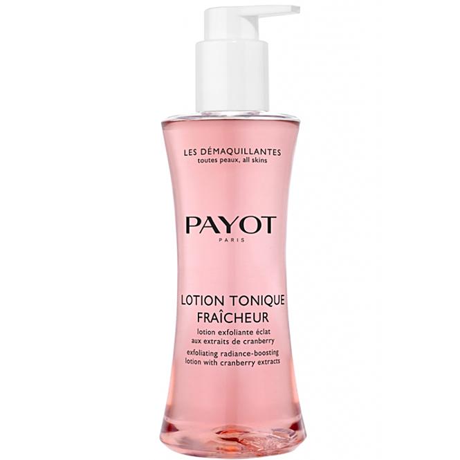 PAYOT Lotion Tonique Fraîcheu, Peelinglotion ideal nach jeder Gesichtsreinigung, Les Démaquillantes, 400 ml